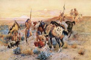 First Wagon Trail