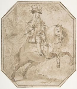 Charles II of Spain on Horseback