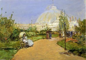 Horticultural Building, World's Columbian Exposition, Chicago