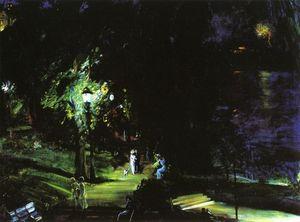 Summer Night, Riverside Drive