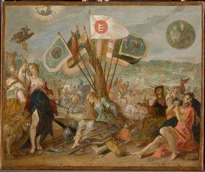 Allegorie on the battle of Guraslau
