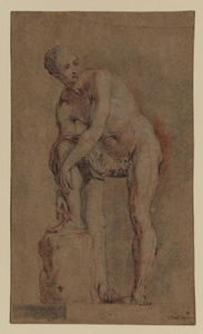 Study of an antique statue