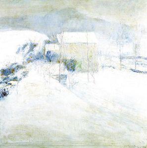 Snow Scene at Utica