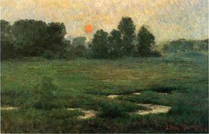 An August Sunset - Prarie Dell