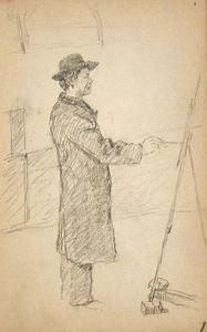 Artist at Easel 1
