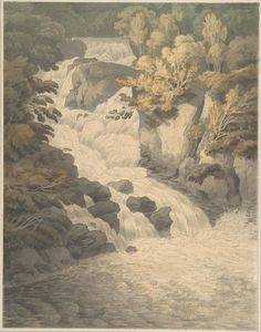 Cascade of the Aray at Inveraray (Scotland)