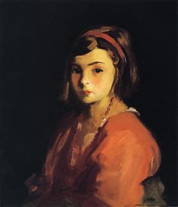 Agnes in Red (Agnes Schleicher)
