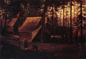 Confederate Encampment at Seven Pines (Fair Oaks) Virginia