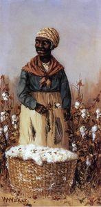 Negro Women in Cotton Field