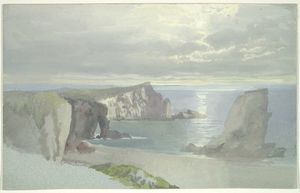 Cliffs on the Shore