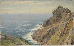 Coast Near Boscastle, Cornwall