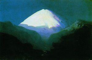 Elbrus. Moonlit Night
