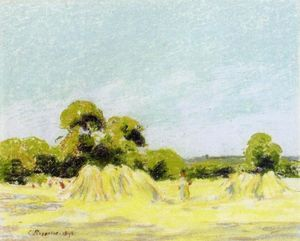 Study for The Harvest at Montfoucault