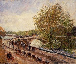 The Pont Royal, Grey Weather, Afternoon, Spring
