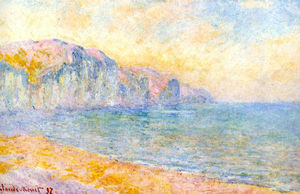 Cliffs at Pourville, Morning
