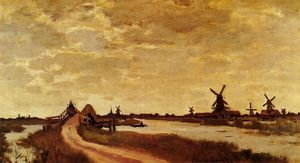 Windmills at Haaldersbroek, Zaandam