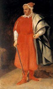El Bufón ''Barbarroja'' D. Cristobal de Castañeda y Pernia
