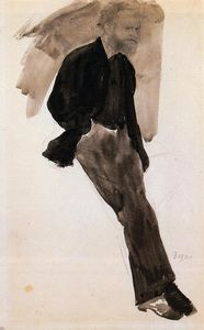 Edouard Manet Standing