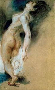 Desnudo femenino visto desde atrás