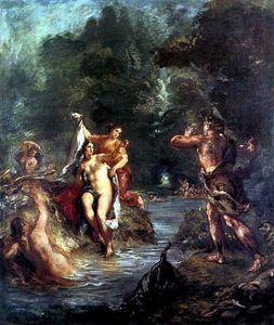 El Verano. Diana sorprendida por Acteón