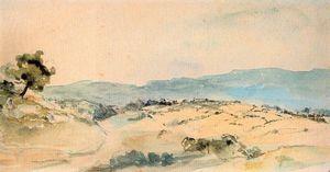 Moroccan Landscape near Tangiers