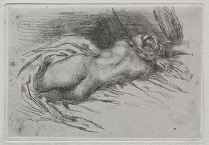 Study of a Woman Seen from the Back