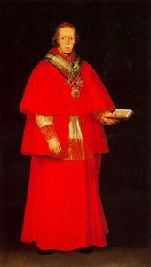 Cardinal Luis María of Borbón