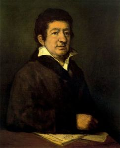 Portrait of the painter Moratín