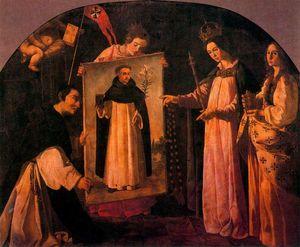 Aparición de la Virgen a los monjes de Soriano