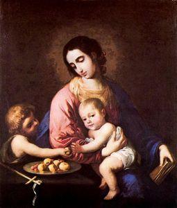 La Virgen y el Niño con san Juan 1