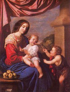 La Virgen y el Niño con san Juan