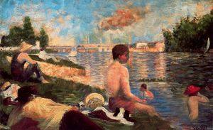 Final Study for Bathers, Asnières