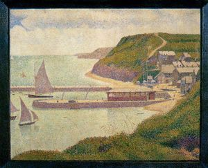 Port-en-Bessin, Outer Harbor, High Tide