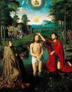 Tríptico del Bautismo de Cristo