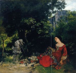 Woman with Garland