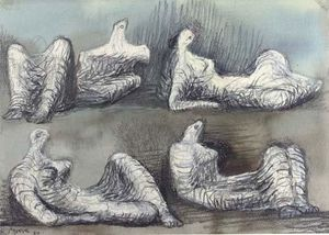 Four reclining figures 2