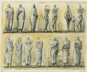 Standing Figures 4