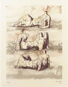 Three reclining figures 4