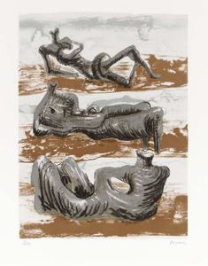 Three Reclining Figures 6