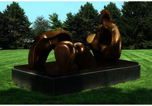 Three-Piece Reclining Figure; Draped