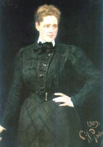 Portrait of countess Sophia Vladimirovna Panina