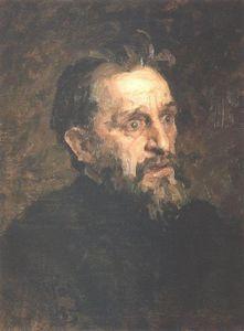 Portrait of painter Grigory Grigoryevich Myasoyedov