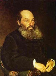 Portrait of the Poet Afanasy Fet