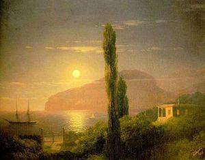 A Lunar night in the Crimea