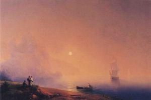Crimean Tartars on the Sea Shore