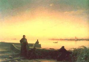 Mhitarists on island of St. Lazarus