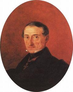 Portrait of A I Kaznacheev