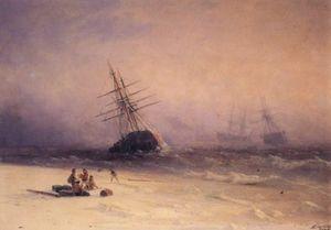 Shipwreck on the Black Sea