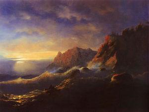 Tempest. Sunset