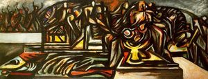 Untitled (Composition with Ritual Scene)